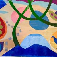 Green Boughs/Blue Bird